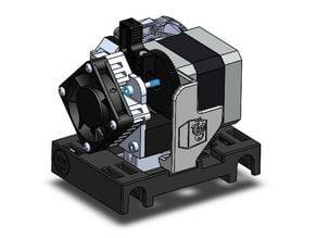 QIDI X-One E3D Titan Areo Volcano Extruder Upgrade