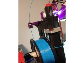 Makergear M2 Filament Guide with filament duster