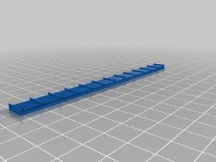 12cm Ruler
