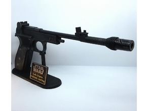 Princess Leia Defender Sporting Blaster Stand