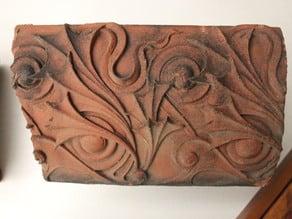 Rubel House Decorative Terracotta by Louis H. Sullivan