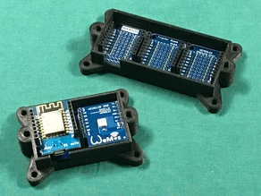 WeMos Double and Triple case