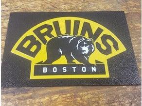 Boston Bruins Sign Multi Material