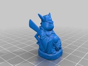 Detective Pikachu Buddha