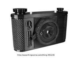 terraPin, a 120 Film Pinhole Photography System