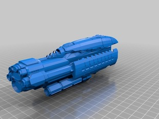 Eve Online - Abaddon Amarr Battleship