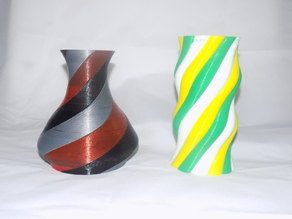 Multiple Extrusion Vases