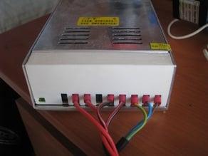 Reprap power supply terminal cover