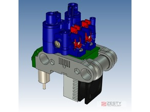 Dual Nimble adapter for the Voron CoreXY printer