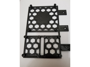 AM8 Electronics Mount Enclosure with 80mm Fan Opening
