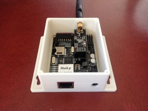 MySensors Ethernet Gateway Box for iBoard