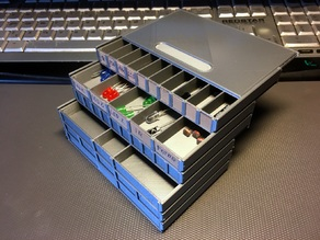 Stackable Resistor Storage Box