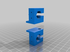 """autolevel Z ROBO 3D: remixe for short 5/16""""-18 (not Coupling )"""
