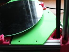 Kossel 250 V-slot Build Area Coverplate 2020