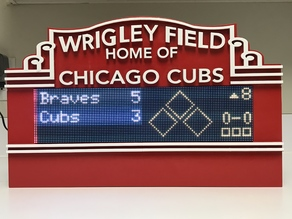 Wrigley Marquee for MLB-LED-Scoreboard