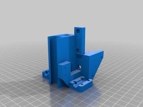 Mendel90 Fixed Brackets - x_idler_bracket & x_motor_bracket (8mm AND 10mm)