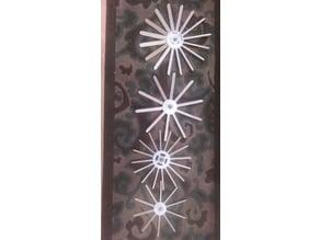 Parametric Craft Stick Pinwheel