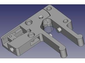 Anycubic i3 Mega Custom extruder + Filament Sensor