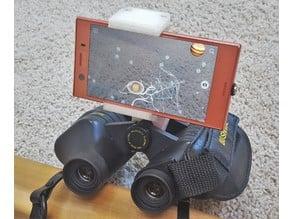 Universal Microscope and Binoculars Phone Adapter