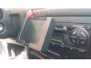 Car Phone Holder (portrait version Sony Xperia)