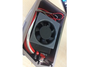 Snapmaker Extrudermodul internal FAN Holder