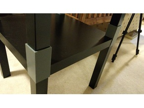 No Hardware - IKEA Lack Side Table Extender/Stacker