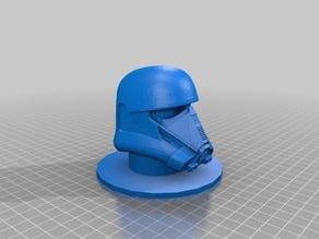 Death Trooper Helmet Model Stand