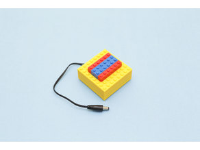 LEGO Compatible Battery Case