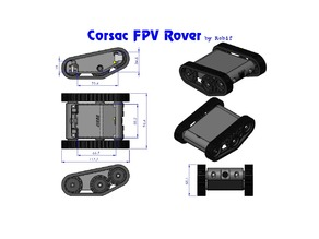 Corsac Mini FPV Rover
