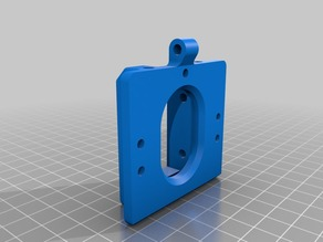 Bulldog Extruder Modified Mount for Hadron Ord Bot