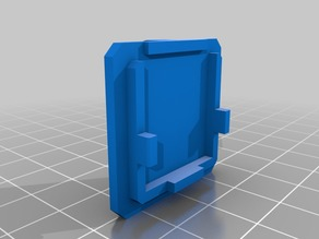 Ender 3 Pi Camera Front Mount clip on
