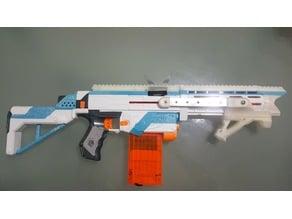 Nerf Retaliator Top Rails
