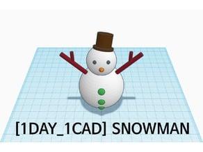 [1DAY_1CAD] SNOWMAN