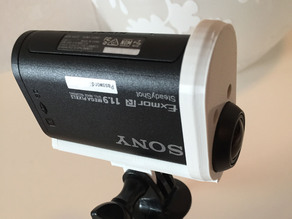 Sony HDR-AS20 Action cam open mount