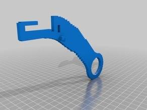 (3D Slash) Filament_holder_LONGER