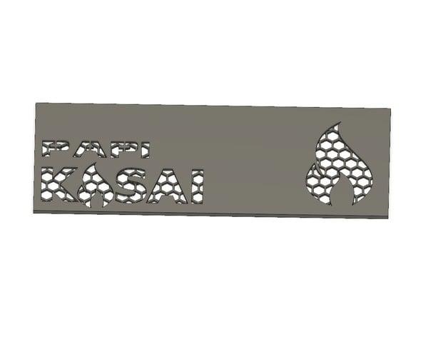 Kasai GPU Backplate by Shumanator03 - Thingiverse