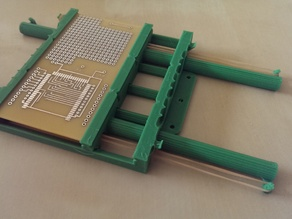 Reversible Elastic Band PCB vice vise