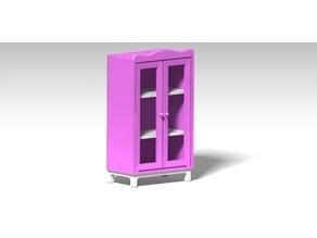 Barbie cabinet