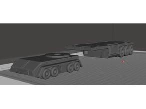 ROBOTECH EDF (UN UEG EBSIS) Wasteland Mech Hauler Type 1