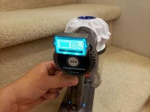 Dyson v6 vaccuum  battery gauge holder