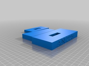AN 225 Stand for model by AVIZO