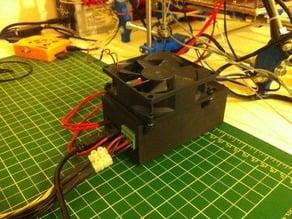 RAMPS case with 80mm fan mount