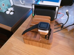 Pebble Time stand adapter