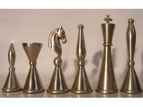 Cylindrical Chess Set