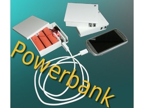 LION enclosure for selfmade powerbank