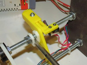 Sliding Y-Endstop for Prusa Mendel