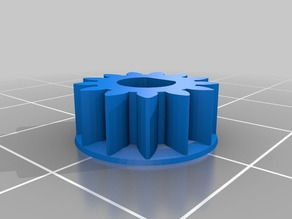 Mendel Mini Extruder small gear corrected