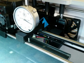 Flashforge Dreamer / Dremel Idea magnetic Dial Indicator Holder