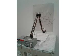 Robotic drawing arm