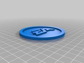 EA Logo Coaster